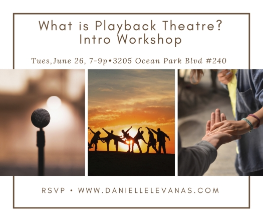 Copy of Playback Theatre Intro Workshop